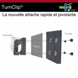 Kit d'installation TURNCLIP