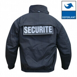 Blouson d'intervention noir