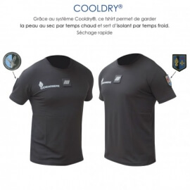 Tee-shirt cooldry anti-humidité Gendarmerie