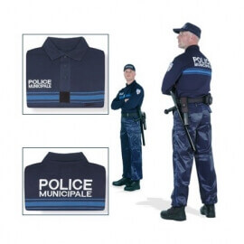 Polo Police Municipale ML