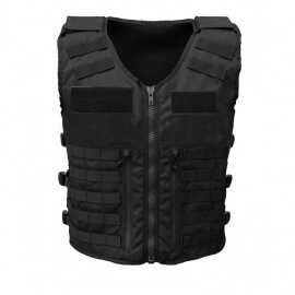 GILET TACTIQUE FOXTROT NOIR FULL TACTICAL MOLLE