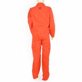 combinaison enfant orange dimatex