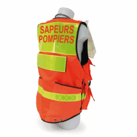 gilet intervention pompier