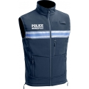 Gilet sans manches softshell pm