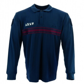 POLO MANCHES LONGUES ASVP