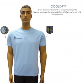 lot de 2 tee-shirts gendarmerie cooldry