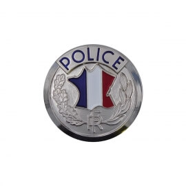 MEDAILLE RONDE POLICE