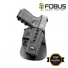 HOLSTER RIGIDE POLYMERE POUR GLOCK DROITIER