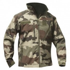 BLOUSON CAMO CE SOFTSHELL 3 COUCHES DINTEX OPEX